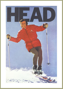 Lodge Decor Gifts For Skiers Ski Posters Antique Skis